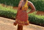 See the Outfit a Lady Wore to Church on Sunday that is Causing Confusion in her Church and Online