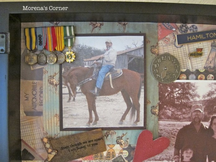 how to create your own memorial shadow box