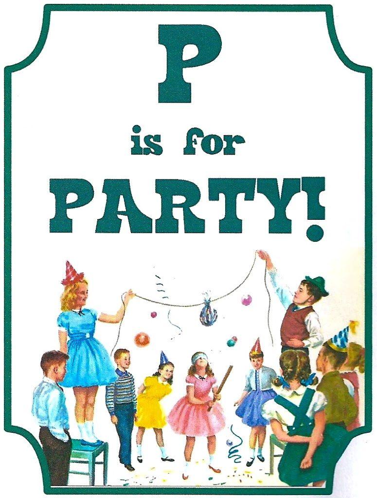 Vintage Book Party: Free Printable Invitation - Morena\'s Corner