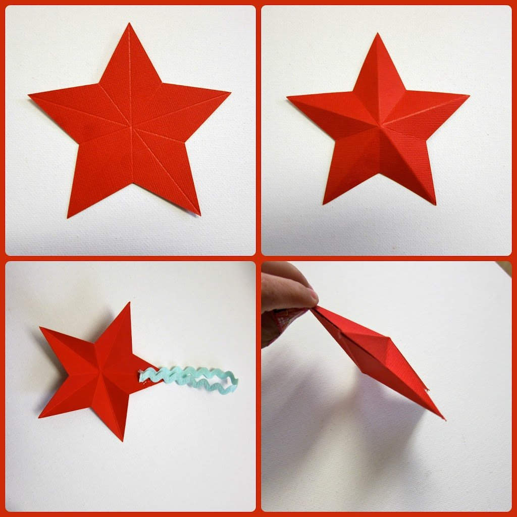 how to make 3d paper stars morena 39 s corner. Black Bedroom Furniture Sets. Home Design Ideas