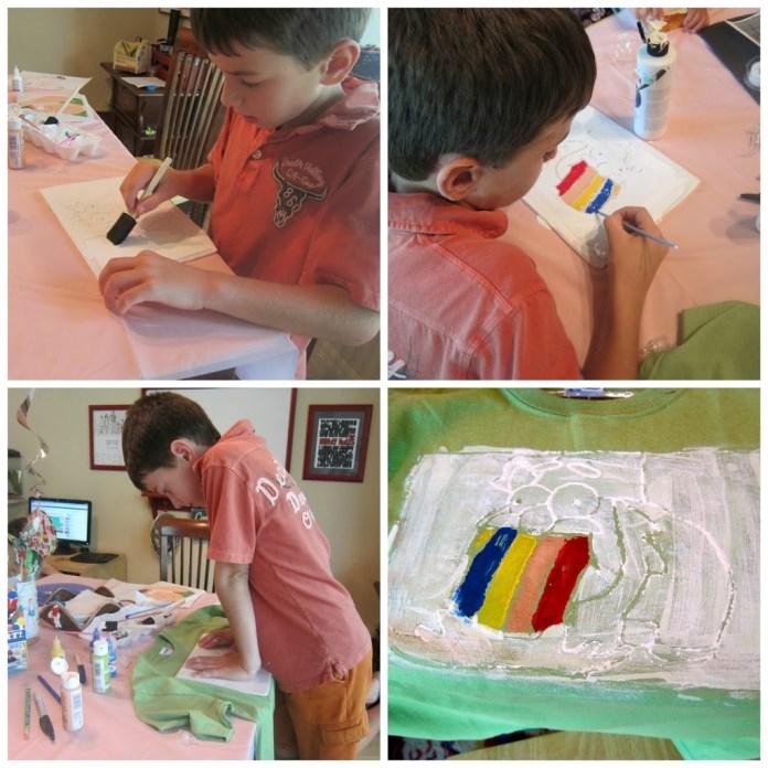 Shirt-Printing-with-kids