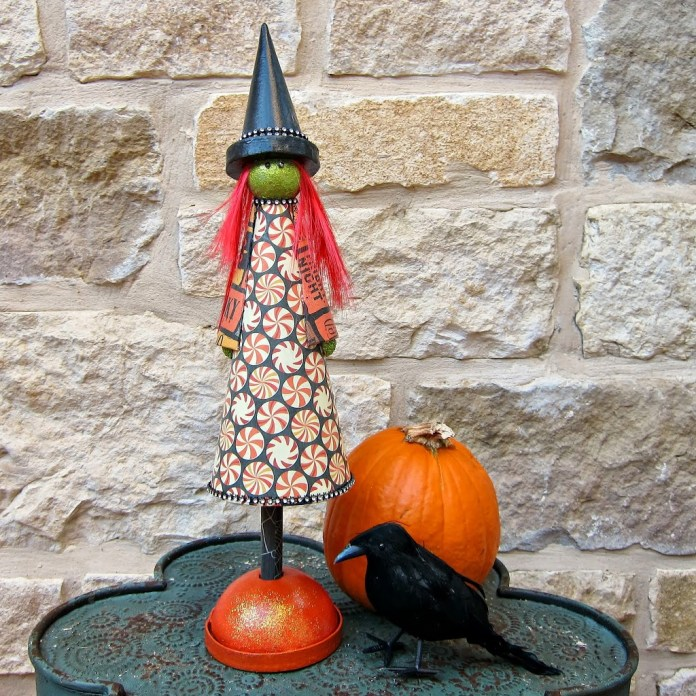 DIY-Cute-Halloween-Witch