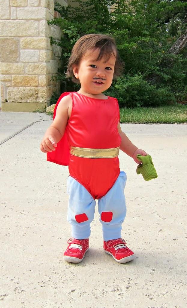 DIY Nacho Libre costume