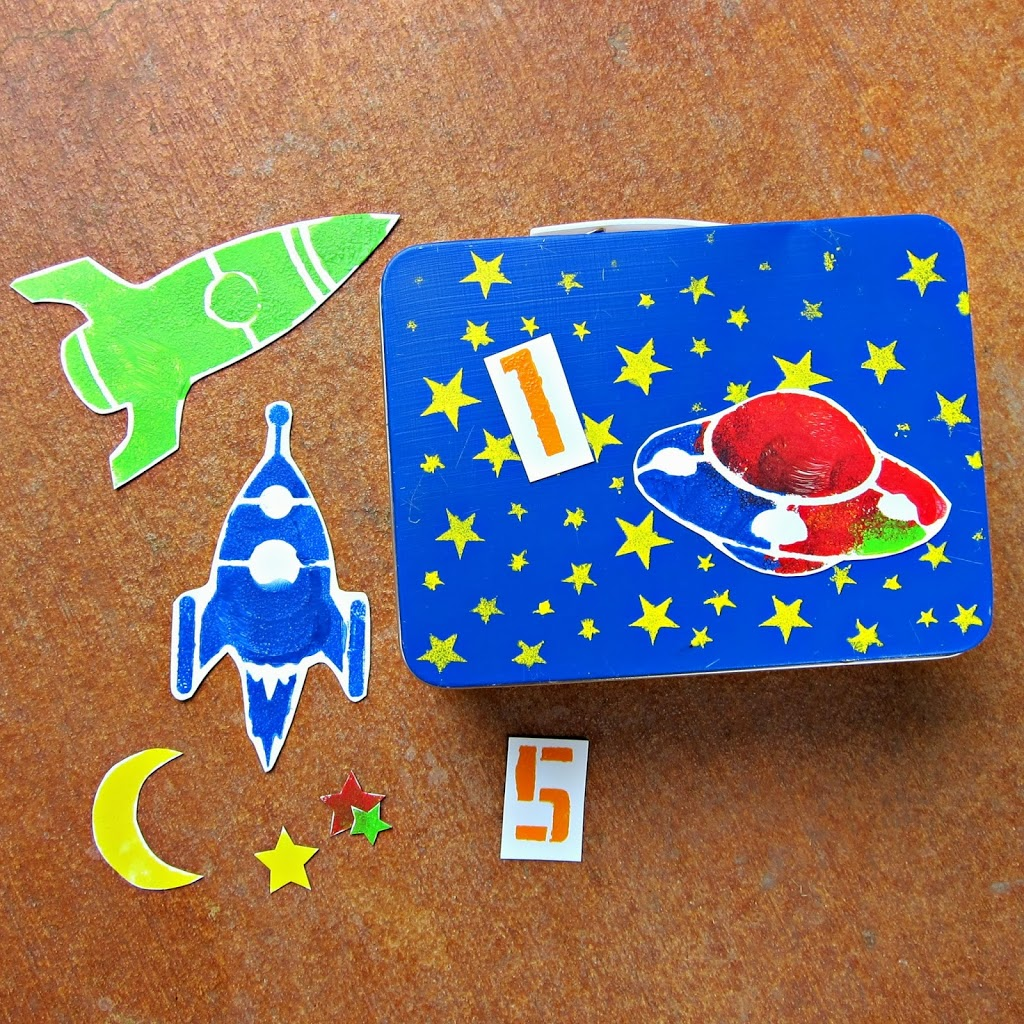 Make a busy box with your kids and handmade charlotte for Ez craft usa vinyl