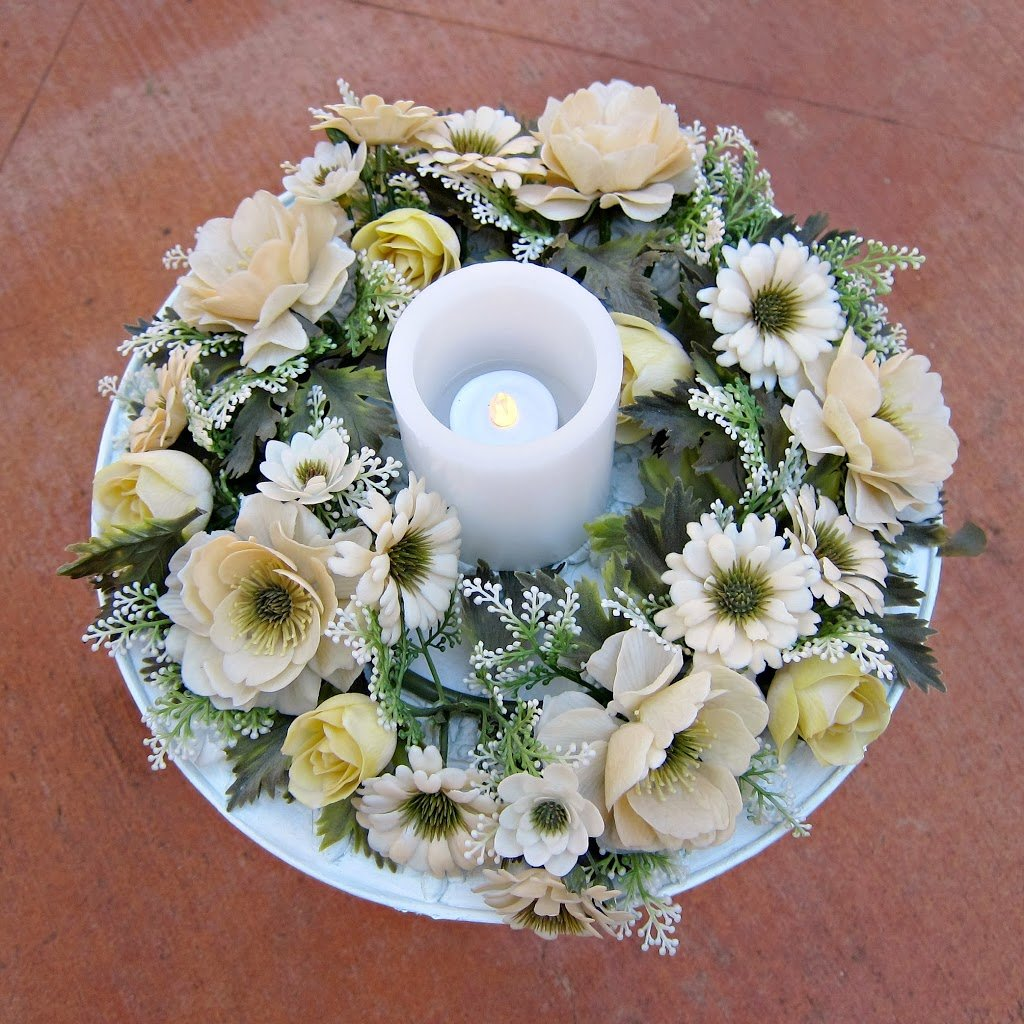 How To Make Your Own Wedding Centerpiece Morenas Corner