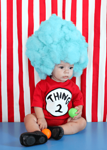 Make your own Thing 1 and Thing 2 wig! This hilarious wig is lightweight and very easy to make.