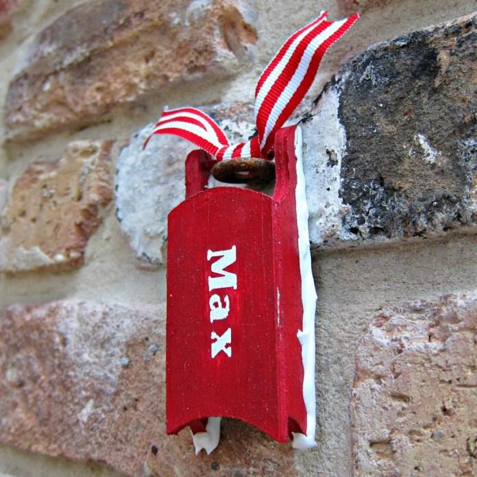 DIY-Name-Ornament
