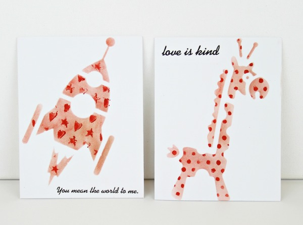 Learn how to layer stencils and use a single color of ink to create pretty cards.