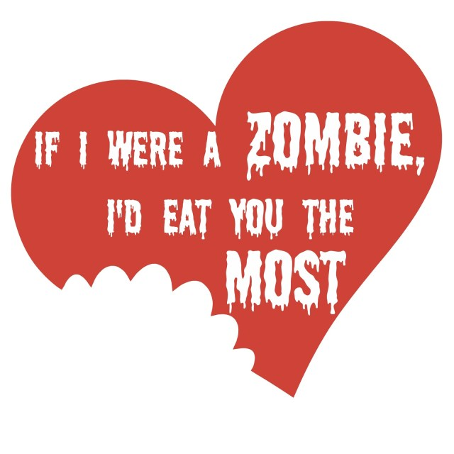 Make your own Zombie Valentines for the Walking Dead fan in your life.  Free printable with tutorial.