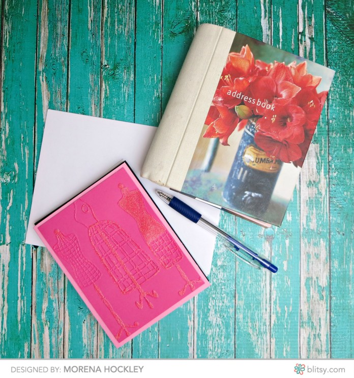 Make beautiful note cards for any occasion by using just embossing folders and Glamour Dust paint. These pretty cards are fun to make and a delight to receive.