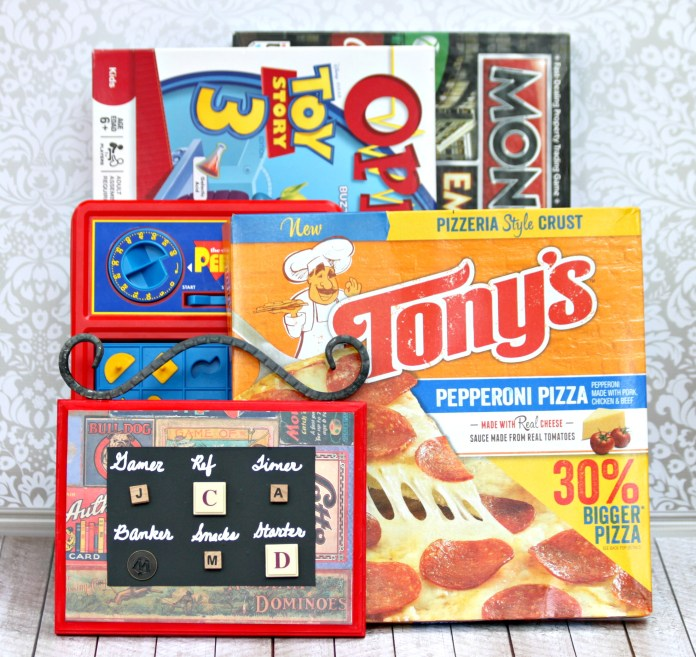 Make a family game night job board.