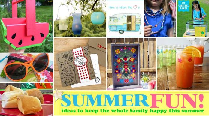 A round up of fun ideas to keep the whole family happy this summer.