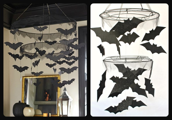 PBK Knock Off Bat Chandelier