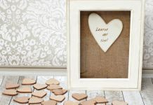 Make a wedding guest book DIY that will be cherished long after the big day!