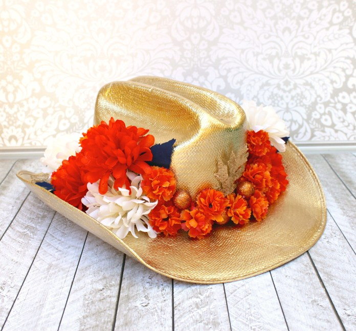 cowboy hat centerpiece