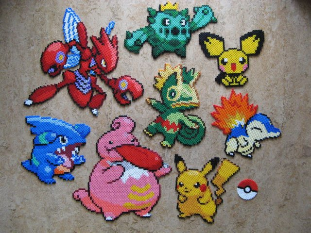 Pokemon go craft ideas you can make morena 39 s corner for Beads for craft projects
