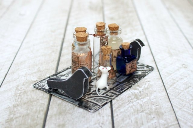 potion bottle DIY