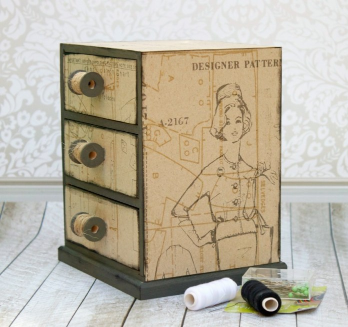 sewing box diy