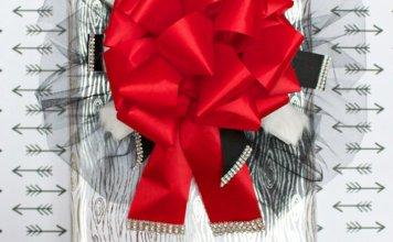 elegant holiday bow tutorial
