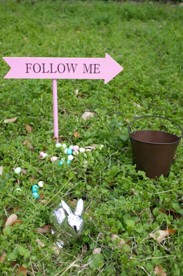Easter Egg Hunt Signs