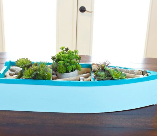 Boat Planter DIY: Nautical Decor Tutorial