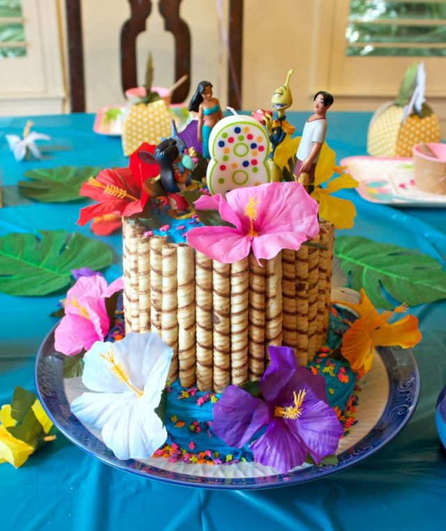 Hawaiian Party A Lilo And Stitch Themed Birthday Morenas Corner