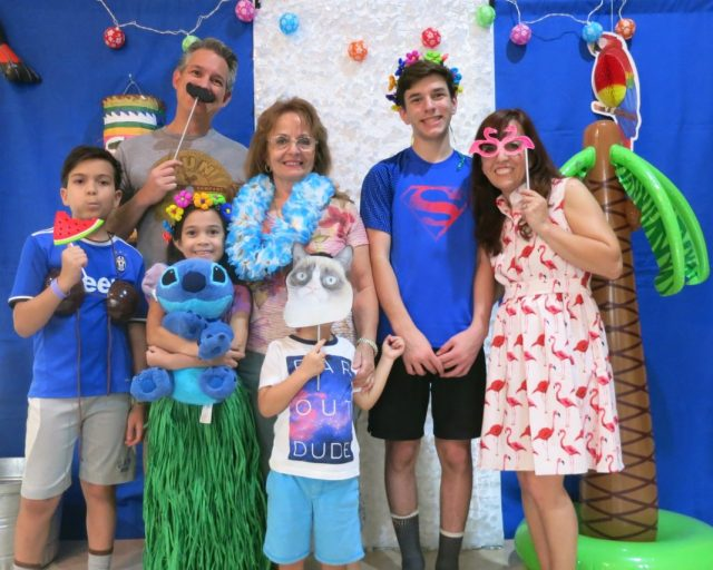 "Throw a Hawaiian party with these ""Lilo and Stitch"" Themed birthday party ideas.  This is a sponsored post with Oriental Trading Company."