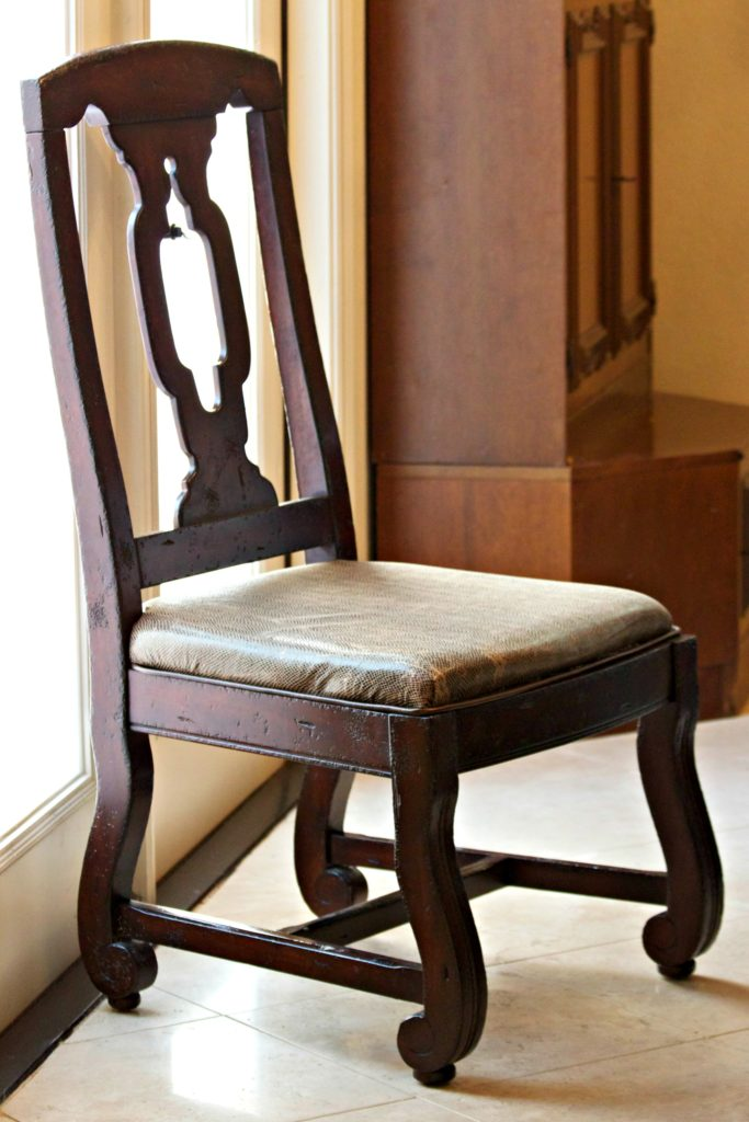 Strange Chair Repair Learn How To Recover A Broken Dining Room Seat Gmtry Best Dining Table And Chair Ideas Images Gmtryco