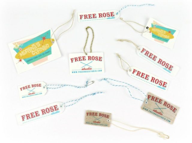 If you are a small business owner or a crafter who sells your handmade goods, you know how important labeling your products is! I'm going to show you how to make your own DIY fabric labels and hang tags that look professional.