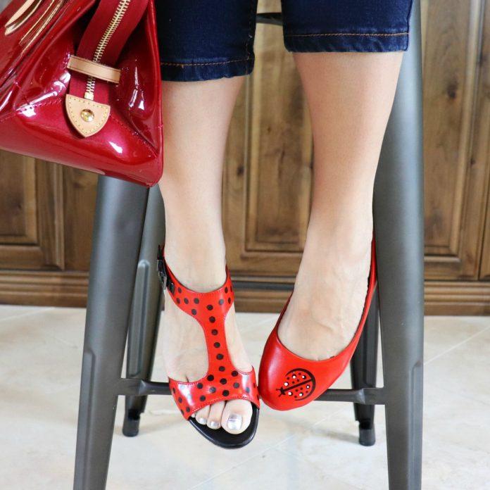 ladybug shoe tutorial