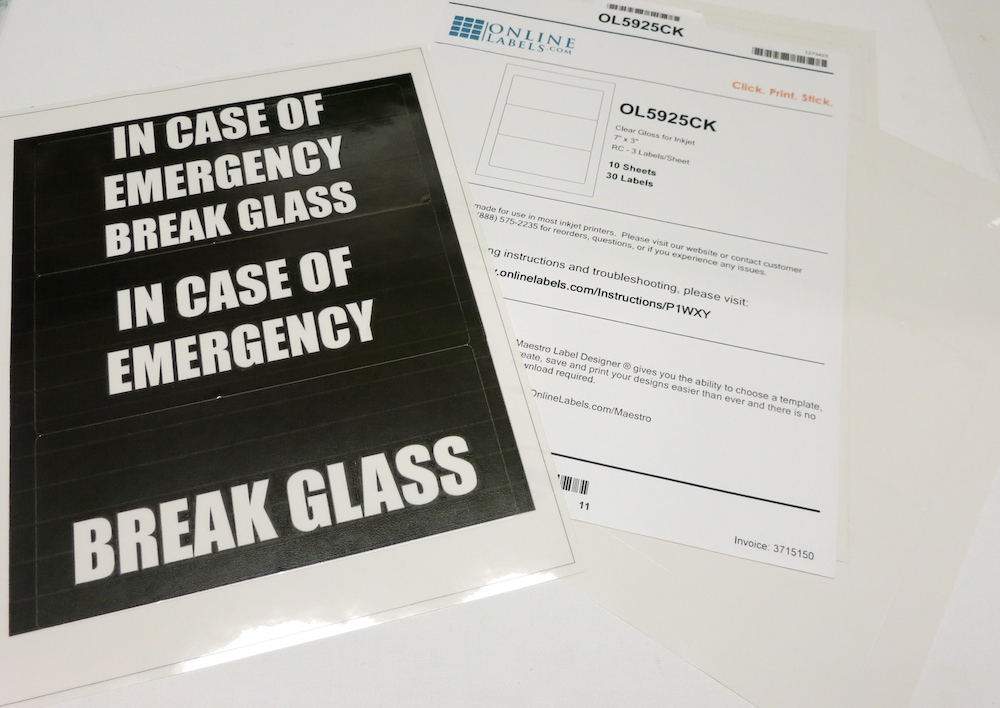 graphic about In Case of Emergency Break Glass Printable titled Split Gl in just Circumstance of Crisis Sweet Decor - Morenas Corner