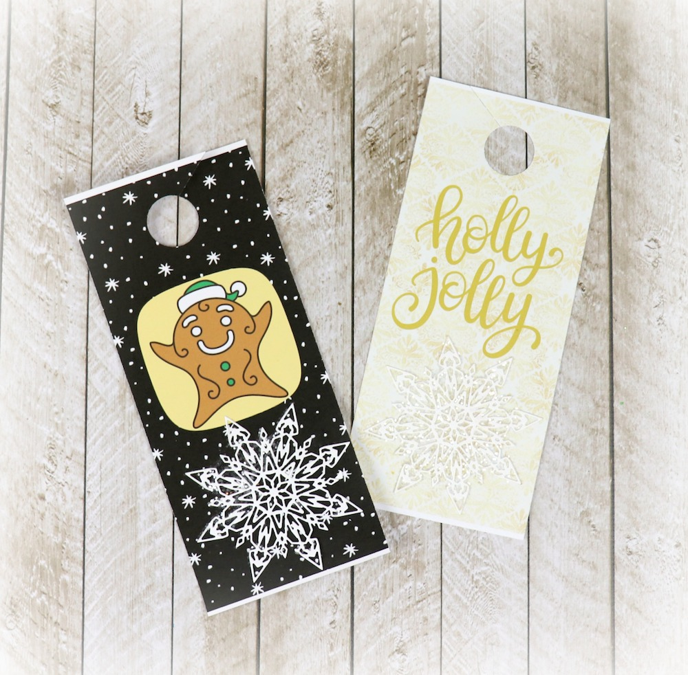 photo about Printable Door Tags named Holiday vacation Doorway Hangers Cost-free Printables - Morenas Corner