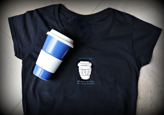 Coffee Time T-Shirt Tutorial