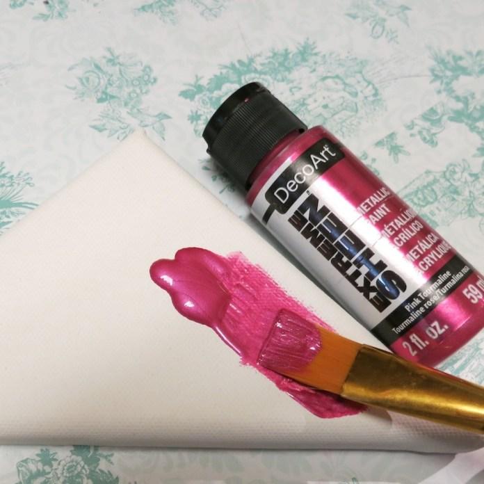 pink metallic paint