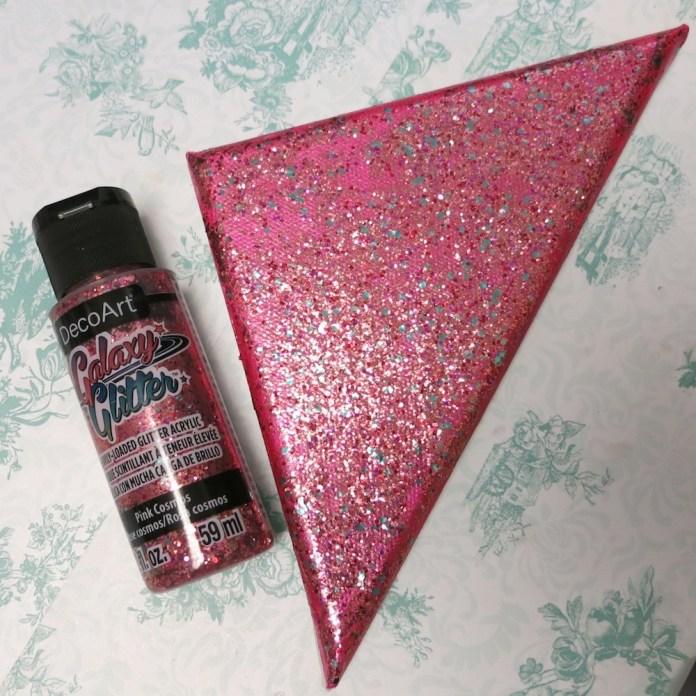 pink galaxy glitter