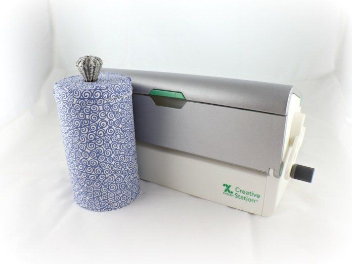 Make recycled storage tins to get organized in your craft space or your home.