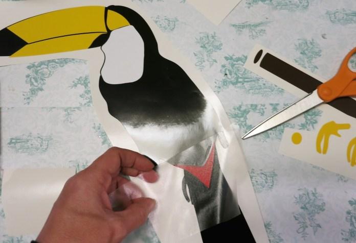 vinyl toucan