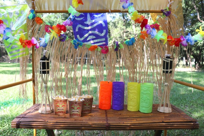 tiki themed party