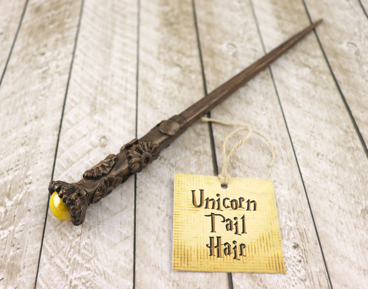 Magic Wands DIY with Clay for Harry Potter