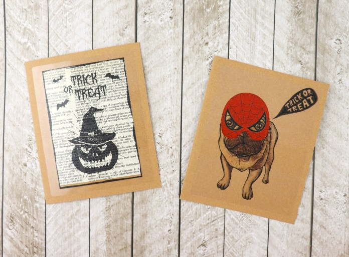 Halloween Clear Labels: Spooky Free Printable Projects