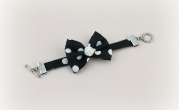 Bow Bracelet Tutorial: Fabric Scrap Project