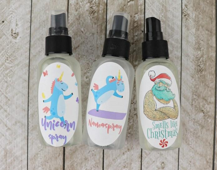 essential oils spray tutorial