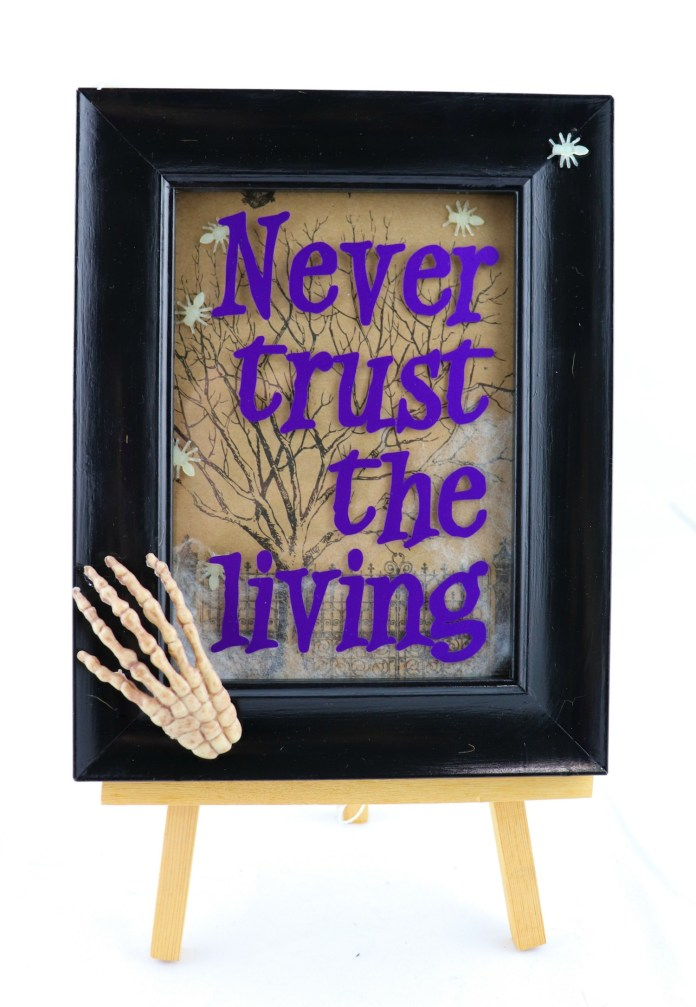 halloween holiday shadow box