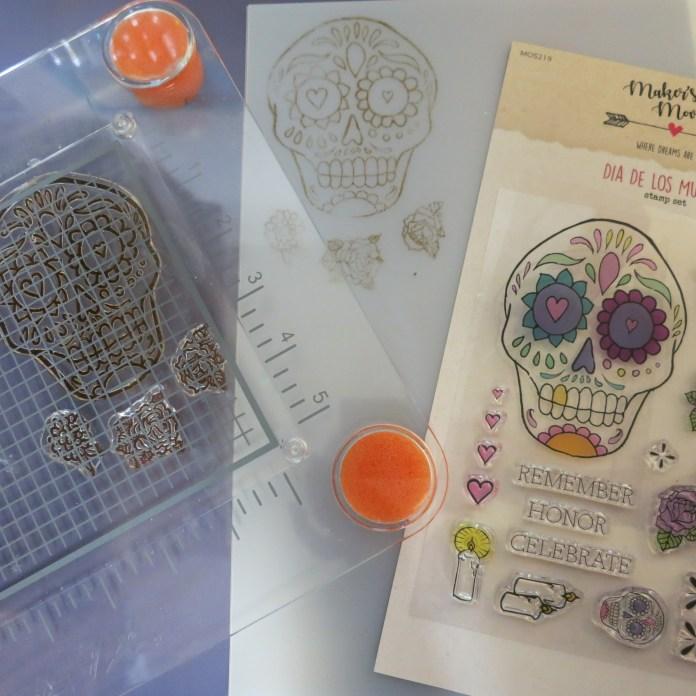 Dia De Los Muertos Pendant DIY