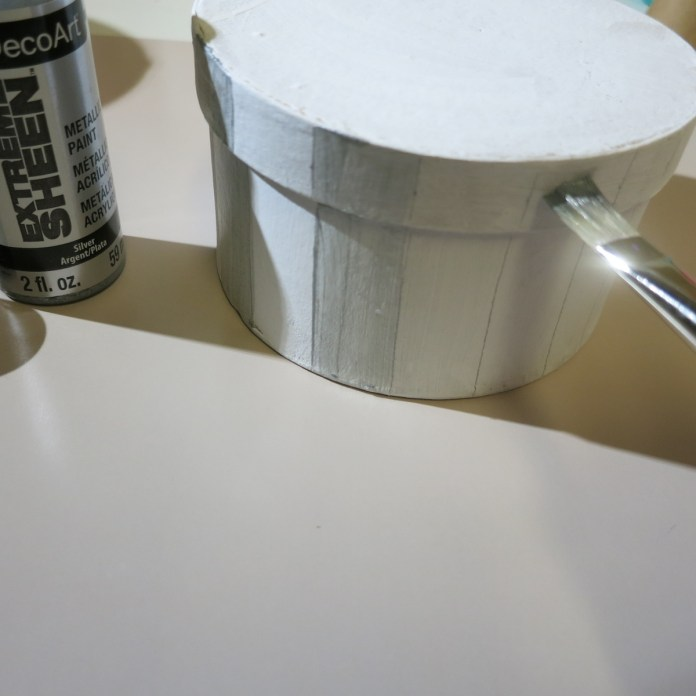 paint with extreme sheen paint from DecoArt