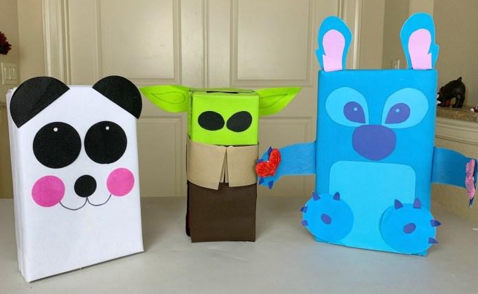 baby yoda valentine boxes