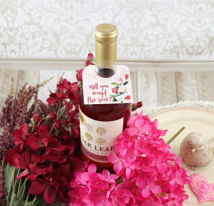 Rosé Wine Tag Printable