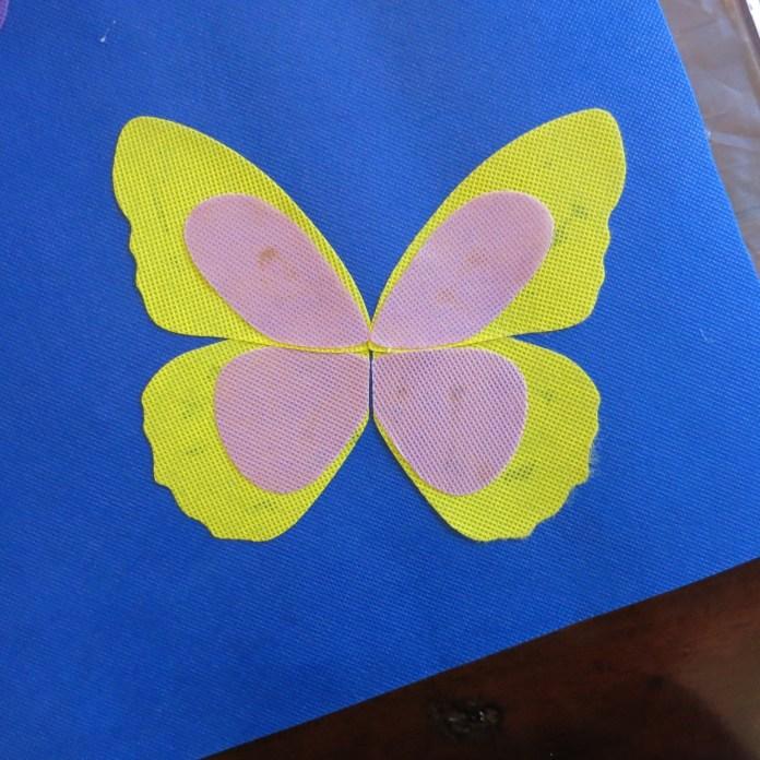 butterfly table runner die cut