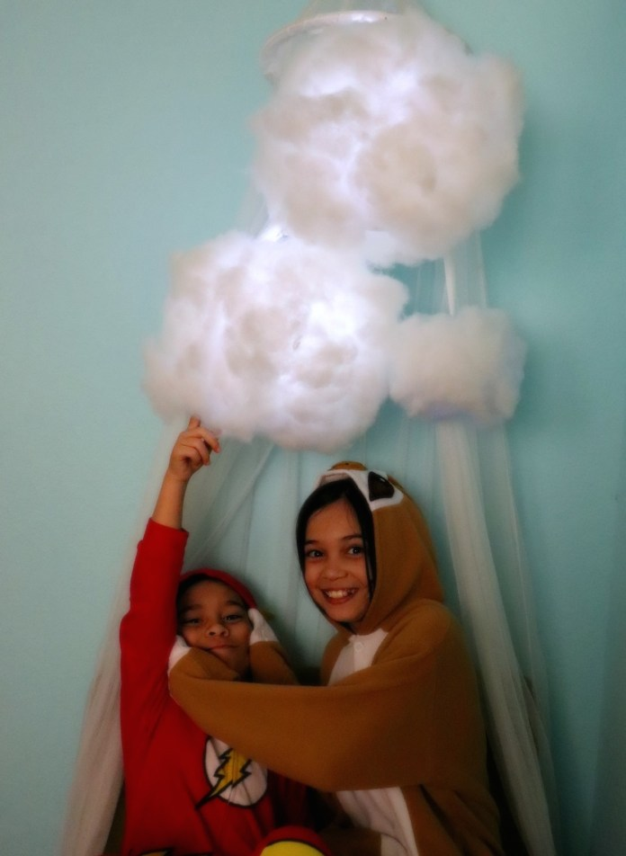 kids decor cloud lantern