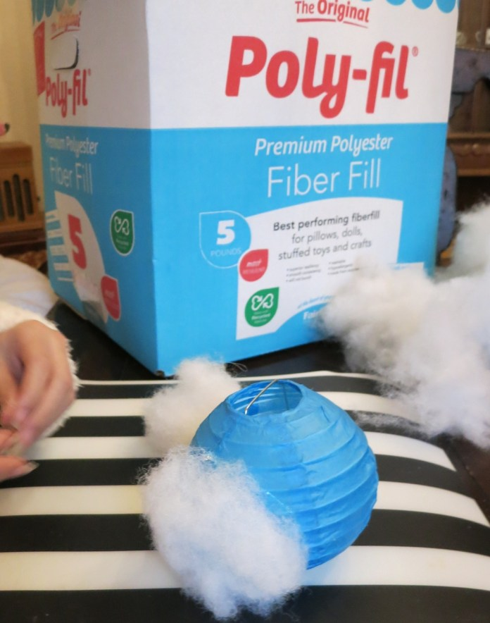 Poly Fil Fiber Fill Cloud Light
